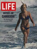 Life Magazine, July 10, 1970 - California girls in the surf