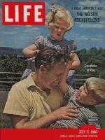Life Magazine, July 11, 1960 - Rockefeller family