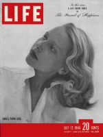 Life Magazine, July 12, 1948 - Small town girl
