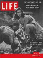 Life Magazine, July 12, 1954 - Pier Angeli