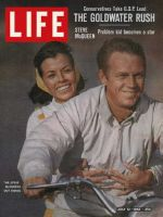 Life Magazine, July 12, 1963 - Steve McQueen with wife Neile