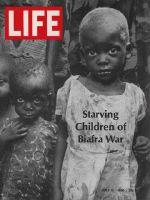 Life Magazine, July 12, 1968 - Starving children of Biafra