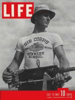 Life Magazine, July 13, 1942 - Gunnery training