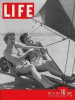 Life Magazine, July 14, 1941 - Sand sailing