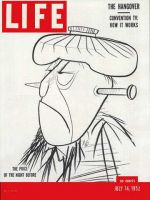 Life Magazine, July 14, 1952 - The hangover