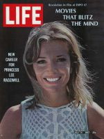 Life Magazine, July 14, 1967 - Princess Lee Radziwill