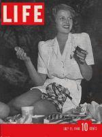 Life Magazine, July 15, 1940 - Rita Hayworth