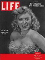 Life Magazine, July 16, 1951 - Dagmar