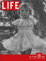 Life Magazine, July 18, 1949 - Hollywood's children