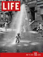 Life Magazine, July 19, 1937 - Black Child in Street
