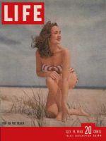 Life Magazine, July 19, 1948 - Beach fun