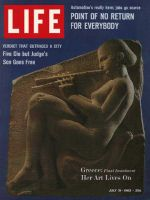 Life Magazine, July 19, 1963 - Greek art