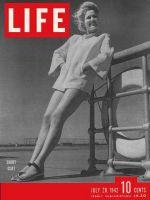 Life Magazine, July 20, 1942 - Woman in Short coat