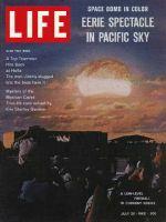 Life Magazine, July 20, 1962 - H-bomb tests