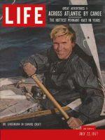 Life Magazine, July 22, 1957 - Six weeks at sea