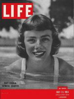 Life Magazine, July 23, 1951 - Swimmer Mary Freeman