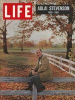 Life Magazine, July 23, 1965 - Adlai Stevenson