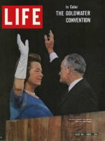 Life Magazine, July 24, 1964 - Senator Barry Goldwater with wife Peggy