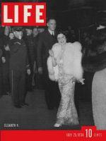 Life Magazine, July 25, 1938 - Queen Elizabeth