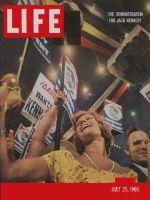 Life Magazine, July 25, 1960 - JFK supporters