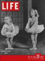 Life Magazine, July 26, 1948 - Two girls learning Ballet