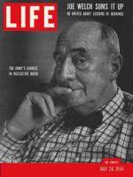 Life Magazine, July 26, 1954 - Lawyer Joseph Welch