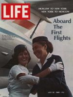Life Magazine, July 26, 1968 - American and Soviet flight attendants