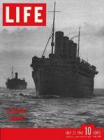 Life Magazine, July 27, 1942 - Atlantic convoy, ship