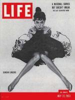 Life Magazine, July 27, 1953 - Cancan lingerie