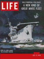 Life Magazine, July 27, 1959 - Peace ships proposal