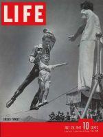 Life Magazine, July 28, 1941 - The circus