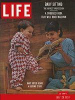 Life Magazine, July 29, 1957 - Baby-sitting