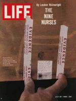 Life Magazine, July 29, 1966 - Nurse Murderer's fingerprints
