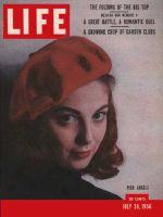 Life Magazine, July 30, 1956 - Pier Angeli