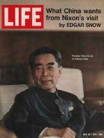 Life Magazine, July 30, 1971 - Chou En-lai