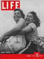 Life Magazine, August 1, 1938 - Garment Workers at Play