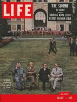 Life Magazine, August 1, 1955 - Big Four in Geneva