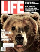 Life Magazine, August 1, 1984 - Grizzly Bear
