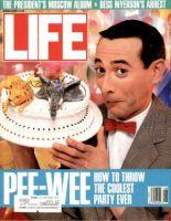 Life Magazine, August 1, 1988 - Pee-Wee Herman