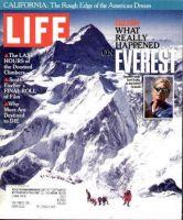 Life Magazine, August 1, 1996 - Tragedy On Mt. Everest