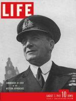 Life Magazine, August 2, 1943 - British Admiral Horton