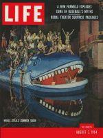 Life Magazine, August 2, 1954 - Summer show biz