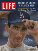Life Magazine, August 2, 1963 - Sandy Koufax, baseball