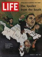 Life Magazine, August 2, 1968 - Governor George Wallace