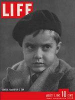 Life Magazine, August 3, 1942 - MacArthur's son