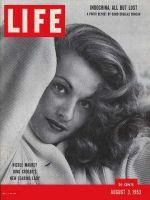 Life Magazine, August 3, 1953 - French actress Nicole Maurey