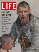 Life Magazine, August 3, 1962 - Astronaut Bob White