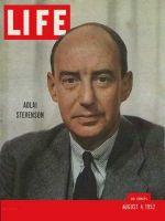 Life Magazine, August 4, 1952 - Adlai Stevenson