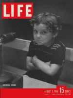 Life Magazine, August 5, 1946 - Frowning boy