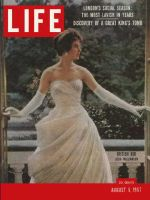 Life Magazine, August 5, 1957 - London debs